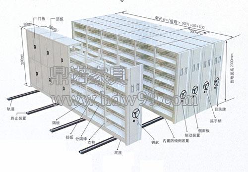 密集架结构